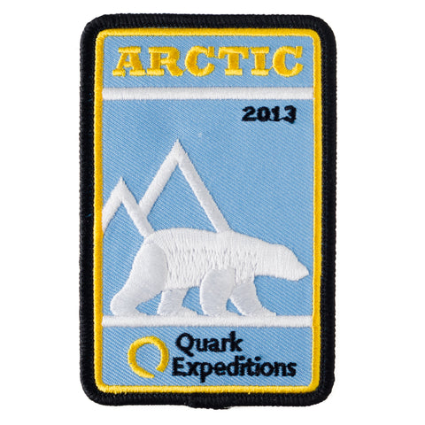 Arctic Expedition 2013 Souvenir Patch - Quark Expeditions, Inc.