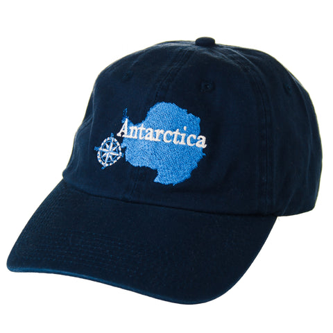 Antarctica with Compass Cap in Navy - Quark Expeditions, Inc.