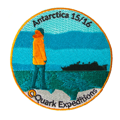 Antarctic 2015 - 2016 Souvenir Patch - Quark Expeditions, Inc.