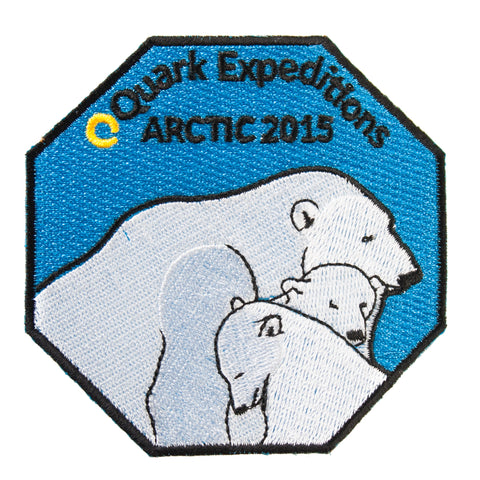 Arctic Expedition 2015 Souvenir Patch - Quark Expeditions, Inc.