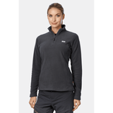 Helly Hansen Ladies Daybreaker 1/2 Zip Fleece - Black - Quark Expeditions - 2