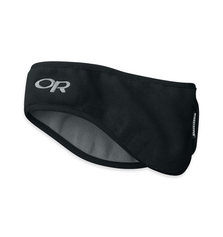 Outdoor Research Fleece Ear Band - Black - Quark Expeditions