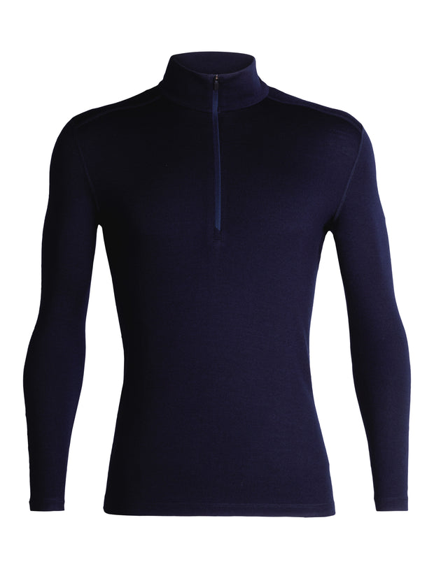 Icebreaker Men's 260 Tech Half Zip in Navy - Quark Expeditions