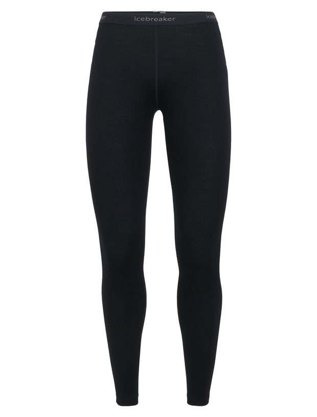 Icebreaker Women's 260 Tech Leggings in Black - Icebreaker