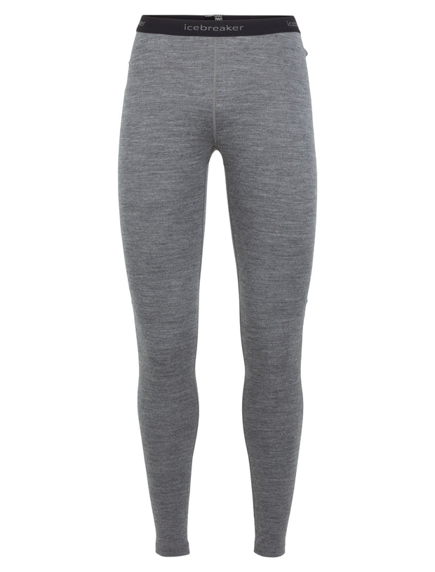 Icebreaker Women's 260 Tech Leggings in Grey - Icebreaker