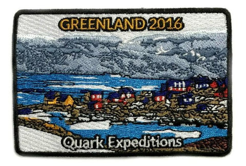 Greenland 2016 Souvenir Patch - Quark Expeditions, Inc.