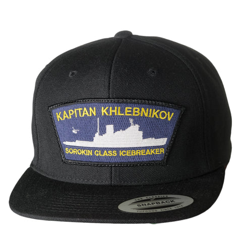 Kapitan Khlebnikov Cap - Black - Quark Expeditions, Inc.