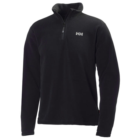 Helly Hansen Mens Daybreaker 1/2 Zip Fleece - Black - Quark Expeditions - 1