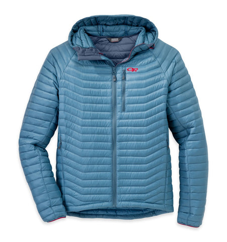 Men's Verismo Hooded Down Jacket in Vintage Agate - Outdoor Research