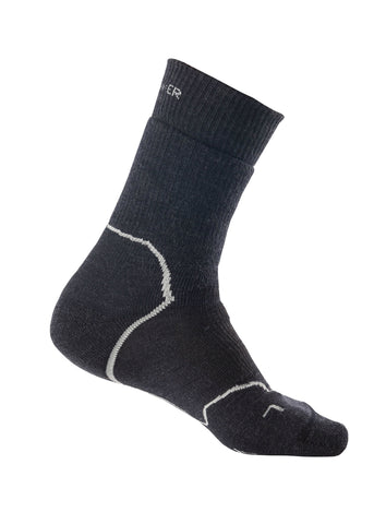 Icebreaker Ladies Hike + Medium Merino Wool Crew Sock - Icebreaker
