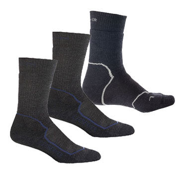 Icebreaker Merino - Mens Expedition 3 Pack Socks - Icebreaker