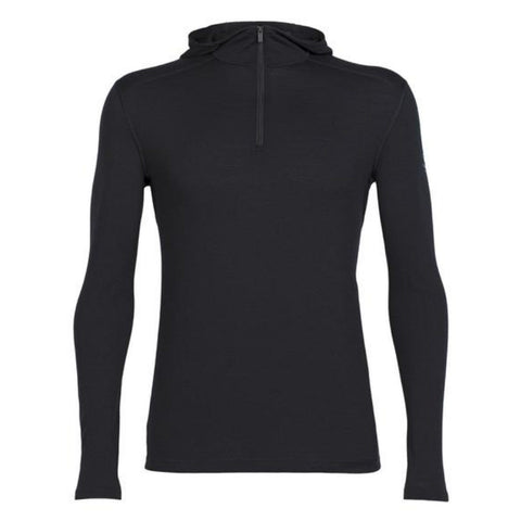 Icebreaker Men's Oasis Half-Zip Hooded Baselayer - Icebreaker