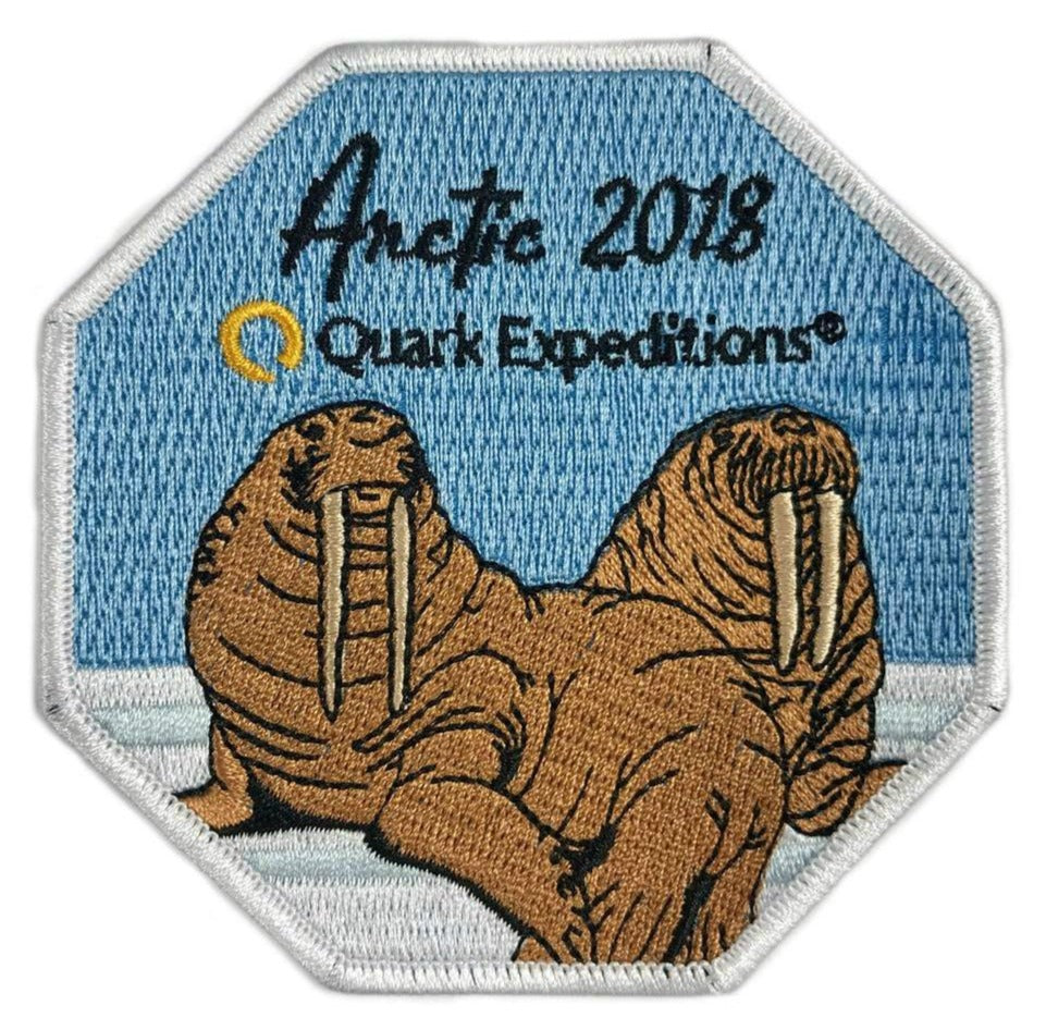 Arctic 2018 Souvenir Patch - Quark Expeditions, Inc.