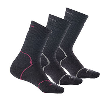 Icebreaker Merino - Ladies Expedition 3 Pack Socks - Quark Expeditions