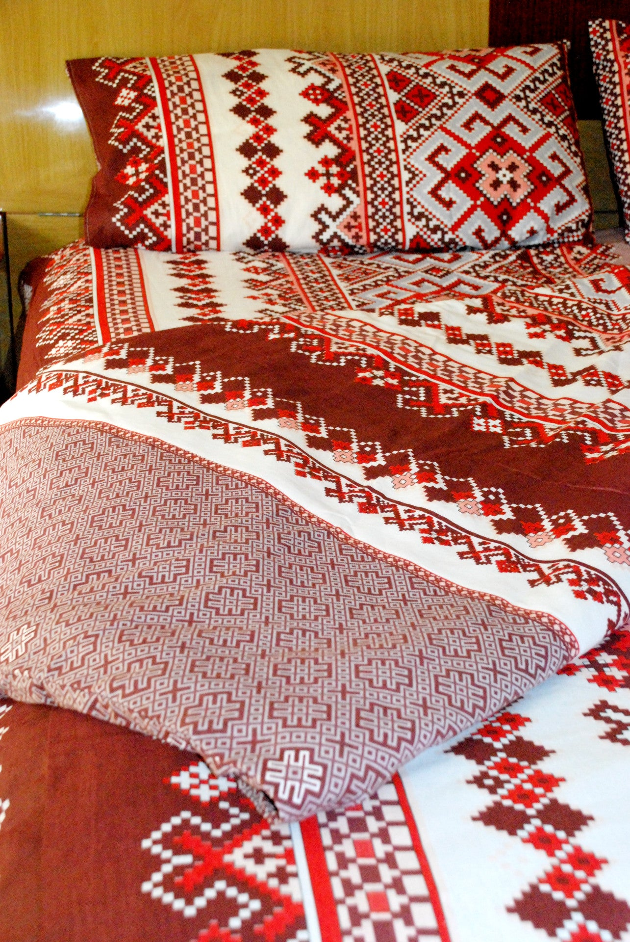 red floral duvet cover range set product linens linear bedding quilt