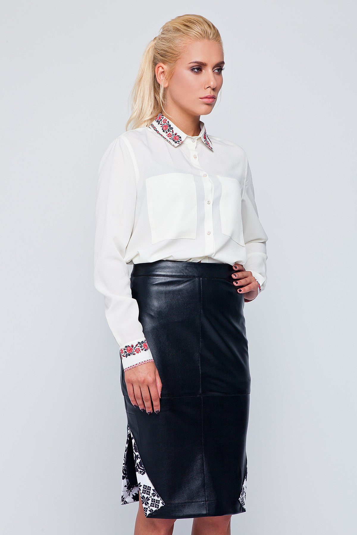 2b3e9a72fad Carlibell Faux Leather Skirt - Black - Fashion Nova
