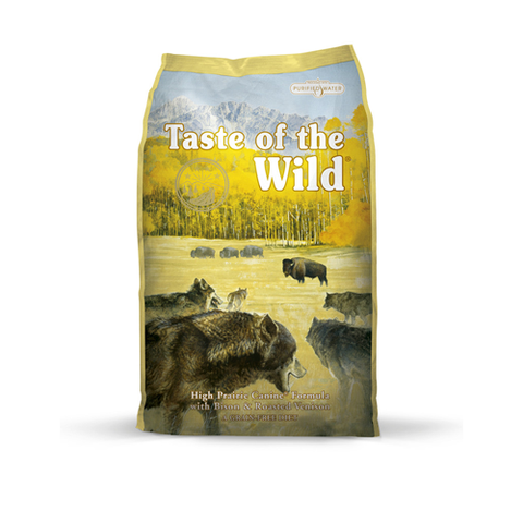 Croquetas Taste Of The Wild High Prairie Canine (Bisonte y venado asado)