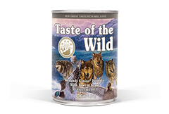 Taste of the Wild - Lata Taste of the Wild Wetlands canine (Pato asado)