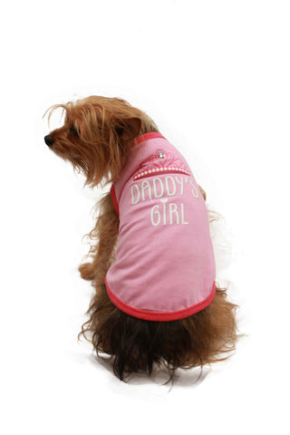 "Playera Estampada Daddy's Girl ""Pet Pals Boutique"""