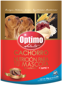 Croquetas Optimo by NUPEC para Cachorro