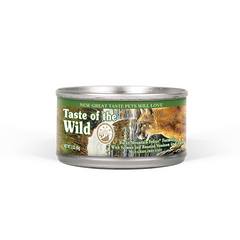 Taste of the Wild - Lata Taste of the wild Rocky mountain Feline (Venado asado y salmón ahumado)
