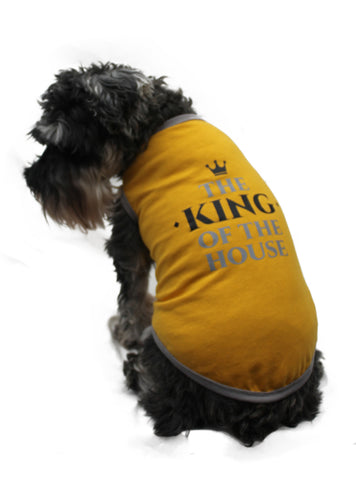 "Playera Estampada King of the House ""Pet Pals Boutique"""