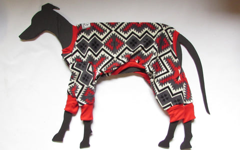 Santa Fe blanket Red Large