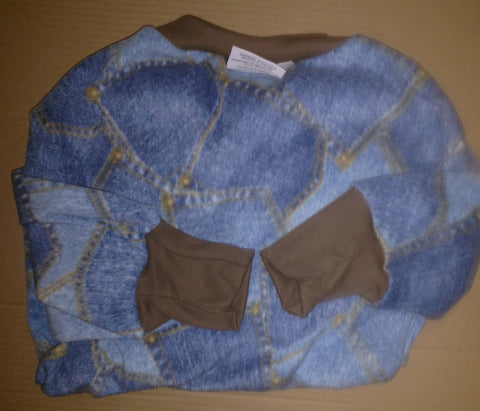 Blue Jeans Large Greyhound Pajamas
