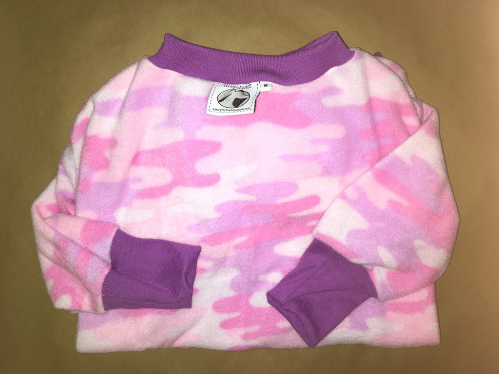 Pink abstract camo Medium