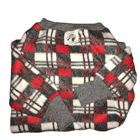 Mini Plaid Charcoal Large