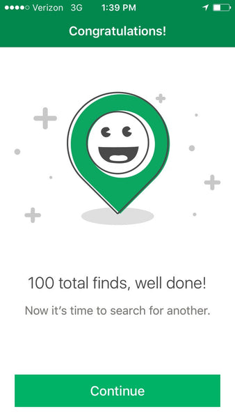 100 Finds!  Life Lessons Learned from Geocaching