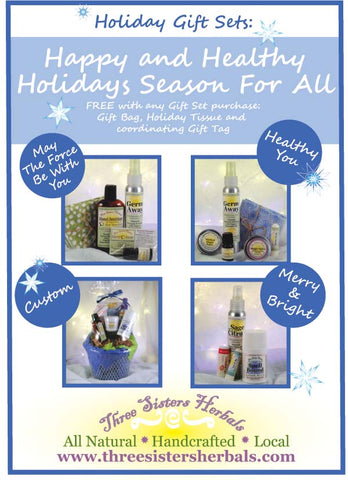 three sisters herbals all natural holiday gift guide