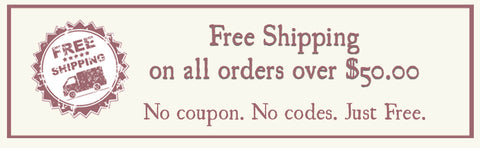 free shipping on all orders over $50.00