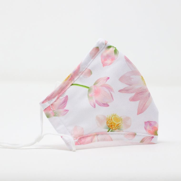 New! Cotton Face Masks in pretty floral prints