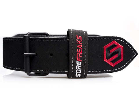 Red Prong belt