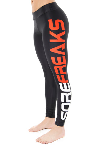 RED WOMEN SOREFREAKS LEGGINGS