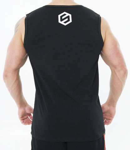 BLACK MEN CLASSIC FEEL THE GAIN SLEEVELESS