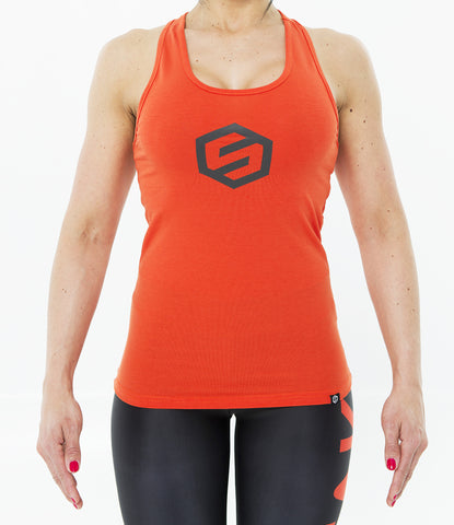 RED WOMEN SOREFREAKS  TANKTOP