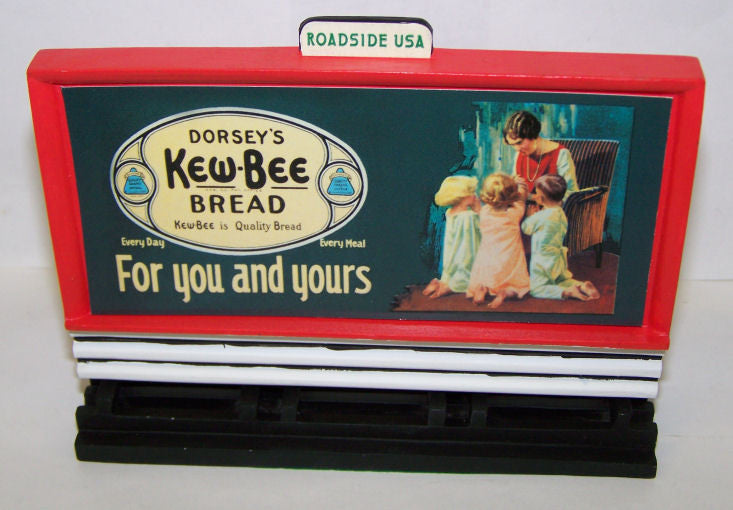 #01602 1/43 Kew-Bee Bread Vintage Road Sign