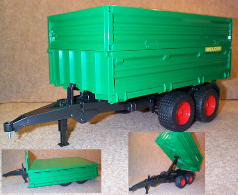 #02010 1/16 Wegler Tilting Trailer