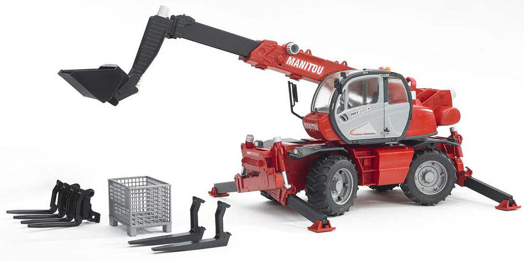 #02129 1/16 Manitou MRT 2150 Telescopic Loader with Accessories