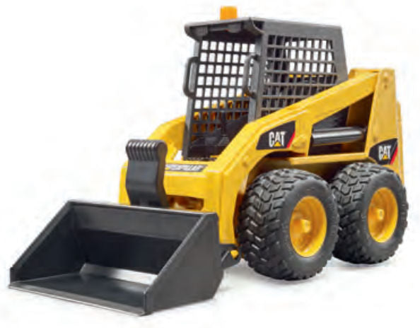 #02482 1/16 Caterpillar Skid Steer Loader