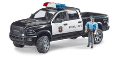 #02505 1/16 Police Dodge Ram 2500 Power Wagon with Policeman