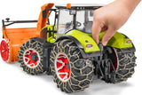 #03017 1/16 Claas Axion 950 Tractor with Snow Chains & Snow Blower