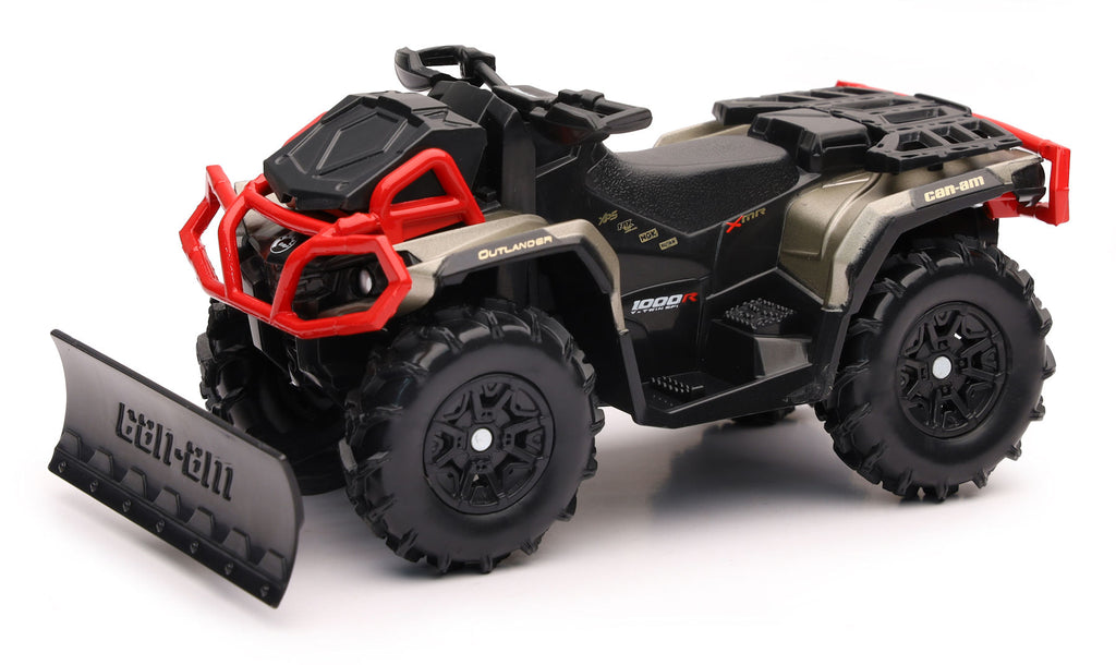 #07383 1/16 Can-am Outlander XMR 1000R ATV with Snow Plow