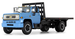#10-4217 1/34 Blue 1970s Chevy C65 Flatbed Truck
