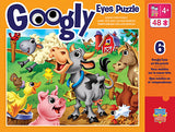 #11712 Farm Animals Googly Eyes Puzzle, 48-pc.