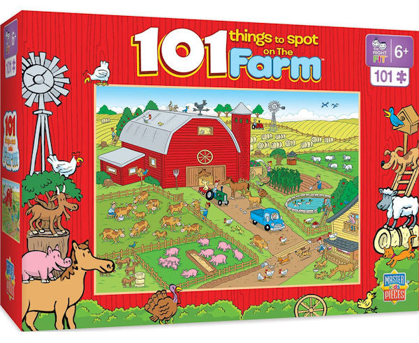 #11714 101 Things to Spot on the Farm, 101 pc.