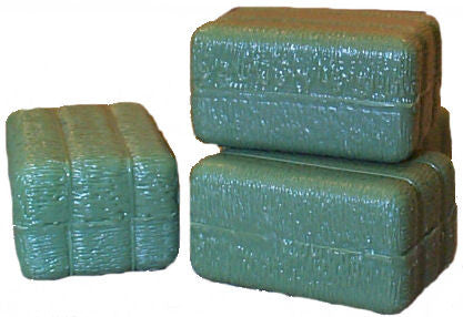 #12665 1/16 Green Square Bales
