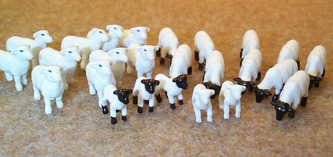 #12743C 1/64 Sheep & Lambs, 25 pc.